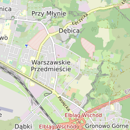 Paczkomat Elb08n Inpost Paczkomat Elbląg Kościuszki 84